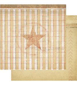 Papel de scrapbook - certified - 19424