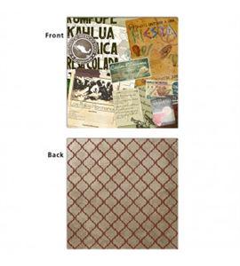 Papel de scrapbook - pimienta - 19444