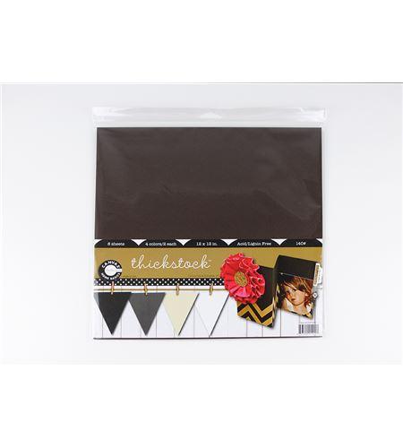 Pack de papel-cartulina 8h - tierra - CCP1420