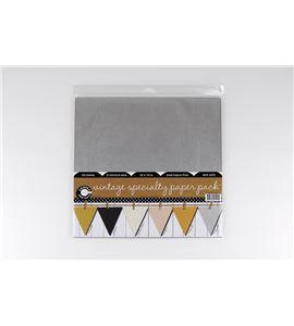 Pack de papel-cartulina 24h -vintage - CCP1421