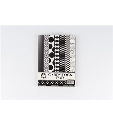 Bloc de papel-cartulina 35h - black & ivory - CCP2577