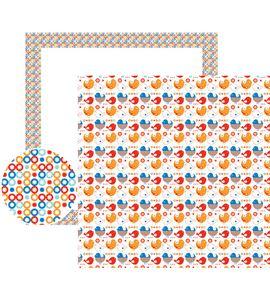 Papel de scrapbook - pájaros - 11001574