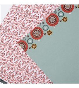 Papel de scrapbook - hojas rojas - 11001595
