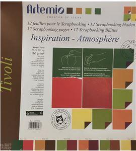 Set de papel de scrapbooking - tivoli - 11008012