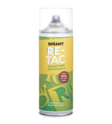 Adhesivo reposicionable transparente ghiant re-tac 400 ml. - 1302
