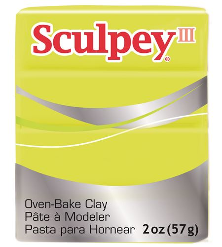 Sculpey iii - acid yellow 57gr. - 3534