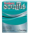 Sculpey soufflé - sea glass 48g