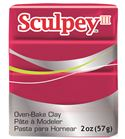Sculpey iii -deep red pearl 57g