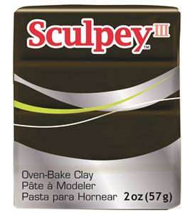 Sculpey iii - suede brown 57gr. - 31109