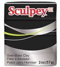Sculpey iii - black 57gr.