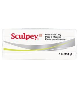 Sculpey iii - white 454gr. - 31001