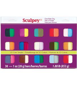Estuche sculpey iii - 30 colores de 28gr. - 4301