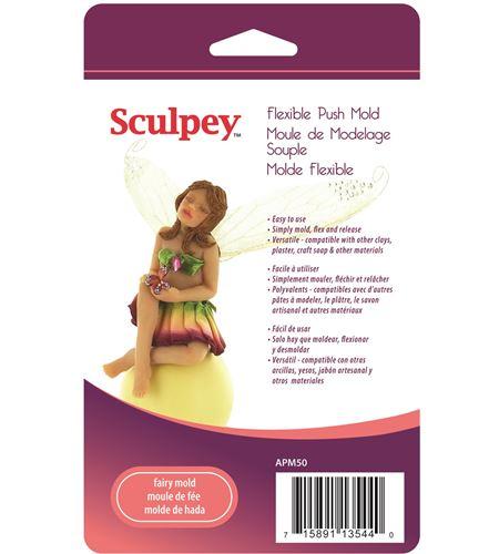 Molde sculpey - fairy - APM50