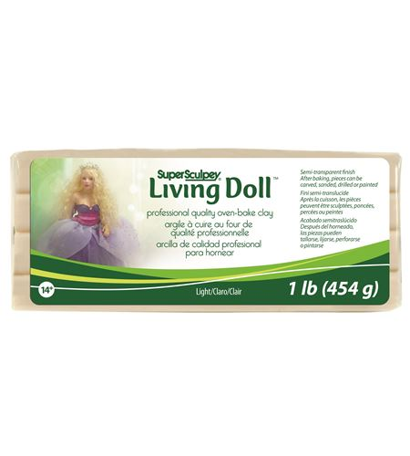 Super sculpey - living doll light - ZSLD3