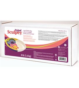 Original sculpey - blanco 3,6kg. - S8