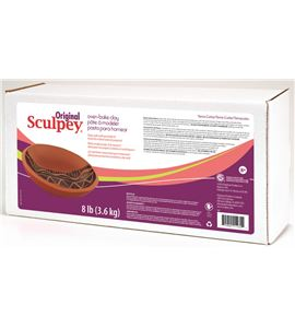 Original sculpey - terracota 3,6 kg - S8T