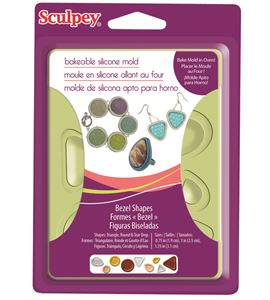 Molde sculpey - bezel shapes - APM80