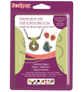 Molde sculpey - cabochon shapes - APM81