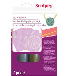 Material auxiliar sculpey - silkscreen kit - K34007
