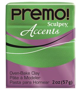 Premo accents - green glitter 57 gr. - 5550