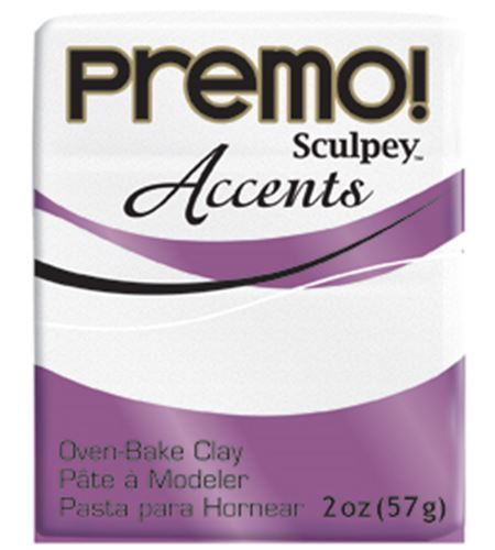 Premo accents - frost white glitter 57g - 5057
