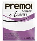 Premo accents - frost white glitter 57g