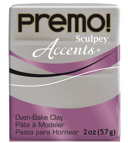 Premo accents - white gold glitter 57gr - 5132