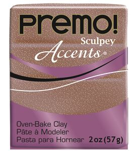 Premo accents - rose gold glitter 57gr. - 5135
