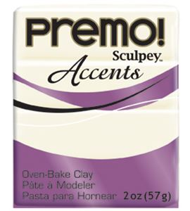 Premo accents - white translucent 57 gr - 5527