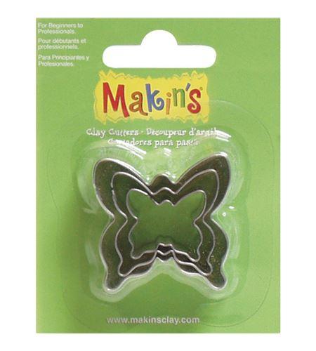 Cortador makin´s - mariposa 3 pc. - 3609