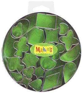 Cortador makin´s - caja metálica geo 22 pc. - 37003
