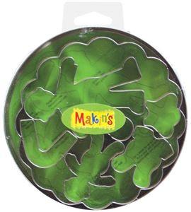 Cortador makin´s - caja metálica bebés 7 pc. - 37007