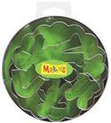 Cortador makin´s - caja metálica bebés 7 pc.