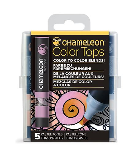 Chameleon color tops - tonos pastel - CT4501