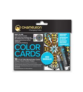 Color cards - mini mandalas - CC0107