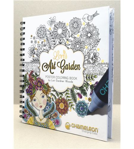 Color book - art garden (lori gardner) - CC0501