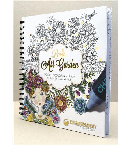 Color book - art garden (lori gardner) - CC0501