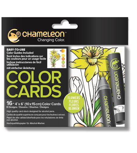 Color cards - flowers - CC0102