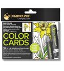 Color cards - flowers