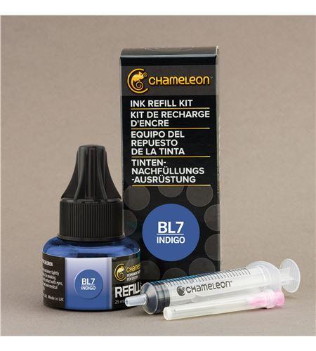 Recarga de tinta chameleon - indigo - CT9030