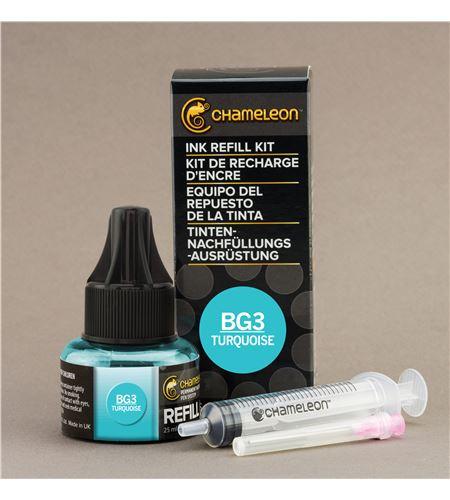 Recarga de tinta chameleon - turquoise - CT9032