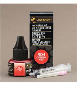 Recarga de tinta chameleon - crimson red - CT9001