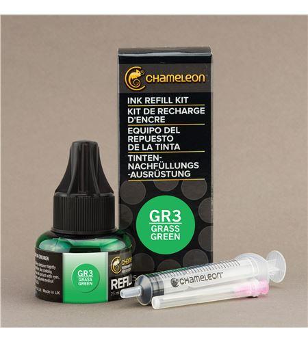 Recarga de tinta chameleon - grass green - CT9006