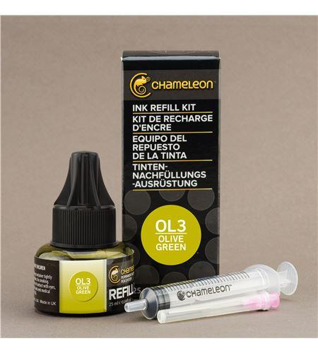Recarga de tinta chameleon - olive green - CT9013