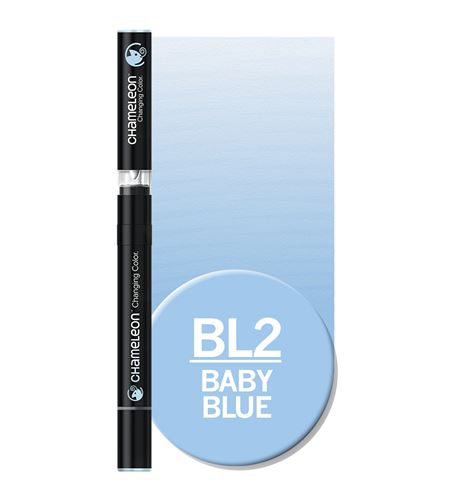 Rotulador chameleon - baby blue bl2 - BL2