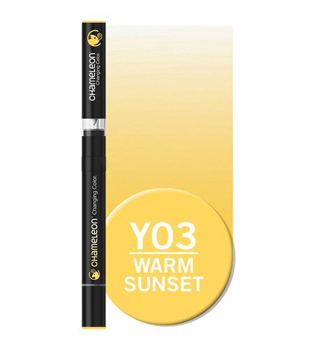 Rotulador chameleon - warm sunset yo3 - YO3