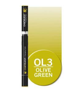 Rotulador chameleon - olive green ol3 - OL3