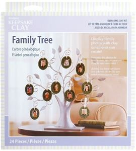 Kit infantil sculpey - family tree - K3 4084