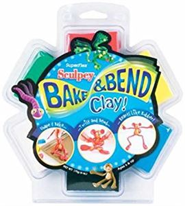 Kit infantil sculpey - bake & bend 6 pc. - FX4048