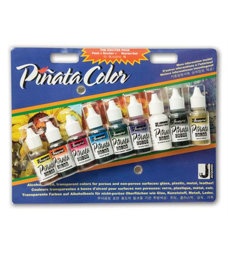 Estuche tinta piñata 9 colores básicos 14ml - IJAC9916-